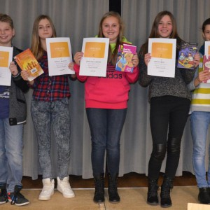 Vorlesewettbewerb in der Erich Kästner Schule