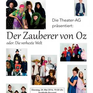 Theatervorstellung am 24.05.2016 in der Stadthalle Baunatal