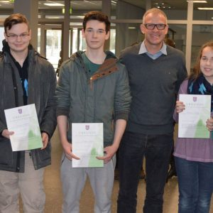 Schulsieger des Mathematikwettbewerbs 2015/16
