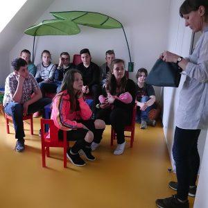 Schüler besuchten Kolpinghaus