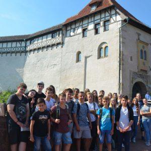Neuntklässler besuchten die Wartburg