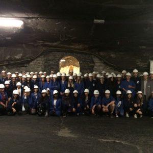 Schüler der EKS besuchten Salzbergwerk