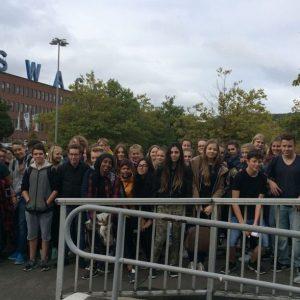 Schüler  erkundeten VW-Werk