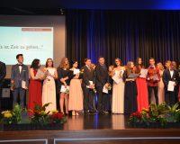 Abschlussfeier in der Stadthalle Baunatal