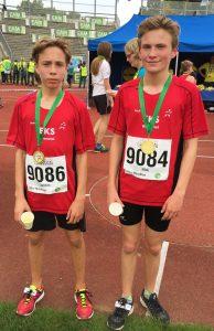 EKS-Schüler Nick Frölich siegte im Minimarathon