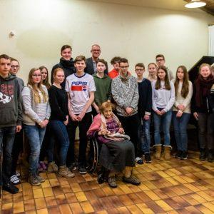 Zehntklässler auf Studienfahrt in Auschwitz