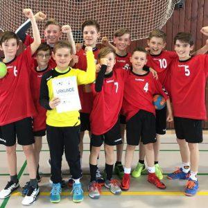 EKS gewinnt Kreis- und Regionalentscheid im Handball