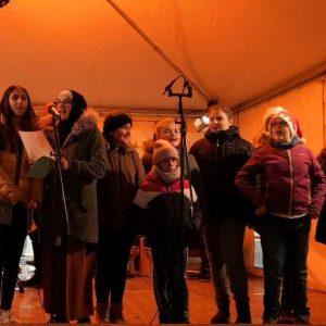 EKS auf der Weihnachtsmarktbühne